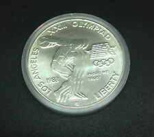 1983 Los Angeles XXIII Olympiad Liberty Silver Coin One Dollar Silver MS Details