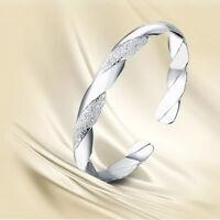 1 Stück Neu Frau Armreif Silber Armkette Armband Schmuck Geschenk