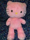 "BABW / Build a Bear Workshop 18"" Pink HELLO KITTY Plush Stuffed Toy"