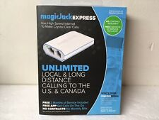 Magic Jack Express High Speed Internet Phone Service Long Distance 3 Months Free