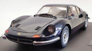 Top Marques 1/12 Scale Model Car TM1202C - 1972 Ferrari Dino 246 GT - Blue