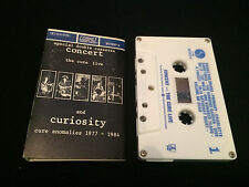 THE CURE CONCERT AND CURIOSITY AUSTRALIAN CASSETTE TAPE