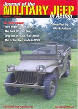 La Jeep MILITARI IN AZIONE libro V1-5 Willys MB Ford BIANCA GPW WW2 US Army Militare