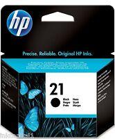HP Número 21 Negro Original OEM Cartucho De Tinta C9351AE Deskjet