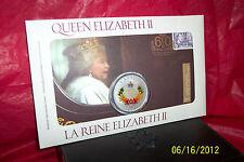 QUEEN ELIZABETH II DIAMOND JUBILEE 2012 CANADA PHILATELIC NUMISMATIC COVER PNC