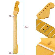 22 Frets Replacement Maple Neck Fingerboard for ST Electric Guitar J7M6