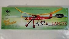 "Guillow's Lancer Rubber Powered Flying Airplane Model Kit # 604 ~ 24"" Wingspan"
