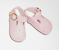 47mm LIGHT PINK T-Strap Doll Shoes for Kish Bitty Bethany