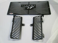 Aprilia Tuono 1000 (06-10) Black Radiator & Oil Cooler Protectors,Covers, Guards