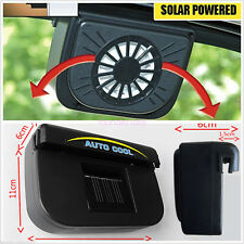 Solar Power ABS Autos Interior Window Air Exhaust Fan Cool Ventilator System Kit