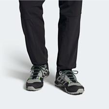Adidas Mens Terrex AX3 Hiking Walking Shoes Grey/Black/Green FW9452 UK 10.5