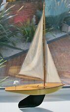 Vintage BOWMAN RACING YACHT Pond Yacht by Haisbro, Ridlington, Norfolk
