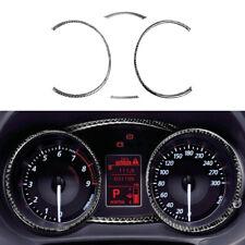 4x Carbon Fiber Black BlSpeedometer Panel Trim For Mitsubishi Lancer Evo 08-14