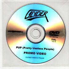 (GG238) Glyder, PUP (Pretty Useless People) - DJ DVD