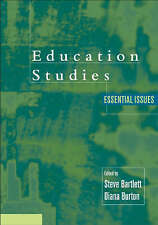 Education Studies: Essential Issues by SAGE Publications Inc (Paperback, 2003)
