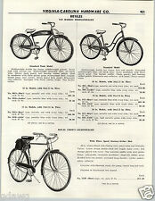 1956 PAPER AD D P Harris Bicycle Tank Model Light Royal Crown English Racer