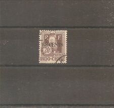TIMBRE INDOCHINE INDOCHINA 1919 TAXE N°23 OBLITERE USED CHINE CHINA ¤¤¤ VIETNAM