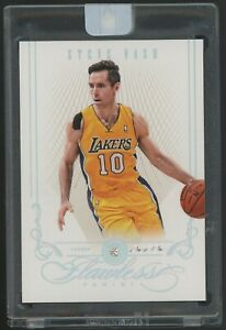 2012-13 Panini FLAWLESS PLATINUM DIAMOND Steve Nash Los Angeles Lakers 1/1