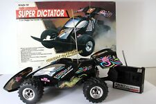 VINTAGE Super Dictator NIKKO RADIO CONTROL BUGGY CAR 4WD 1:8 MADE IN JAPAN