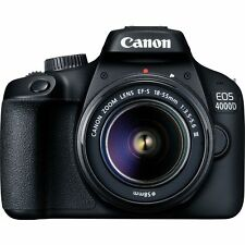 Canon EOS 4000d Body Ef-s 18-55mm III Lens DSLR Camera 18mp 3011C006