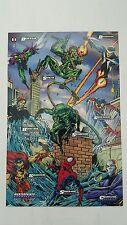 Spiderman masterprints fleer 1994  ( enemies lll )