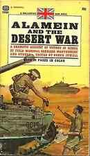 ALAMEIN AND THE DESERT WAR editor Derek Jewell - WORLD WAR II NORTH AFRICAN WAR