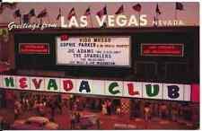 "Las Vegas NV  ""The Nevada Club Casino""  Postcard Nevada *FREE US SHIP"