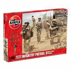 AIRFIX A03701 British Forces Infantry Patrol 8 Figures 1:48 Military Model Kit