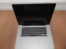 """Apple MacBook Pro 15.4"""" Core i7 - QM 2.4 GHz  Late 2011 GPU"""