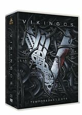 VIKINGOS TEMPORADAS 1 2 3 4 DVD PACK 1-4 DVD NUEVO ( SIN ABRIR )