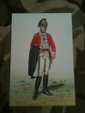 Set x 7 Military Postcards 17th 21st Lancers by Alix Baker