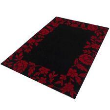 Soldes Tapis Infinity 32780/3313 Noir/Rouge 120x170 cm Tissé de Haute Qualité
