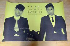 DBSK TVXQ- Catch Me *OFFICIAL POSTER* Vol.2 K-POP C ver. U-KNOW MAX