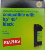 Staples re-manufactured inkjet cartridge for hp 45 Black - #6B