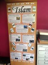 Islam RE resource display flashcards facts to display classroom childminder
