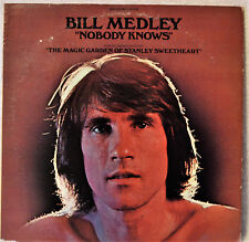 Bill Medley Nobody Knows White-Lbl Promo DJ LP NM Vinyl Magic Garden Soundtrack