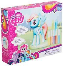 My little Pony Stelle Her Farbe deinen eigenen Glitzer 3D STRÄHNE Set Mädchen