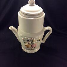 Vintage Porcelier 4 Pc Coffee Tea Drip Pot