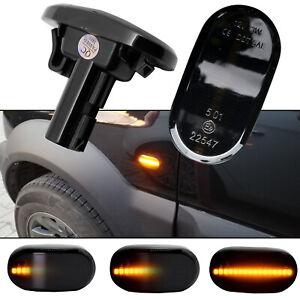 2Pc Dynamic Turn Signal Light Side Marker Indicator LED For Jimny JB74 2019 2020