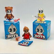 "Lot Of 3 Kidrobot Bots 3"" Mini Series 1"