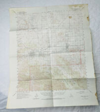 New ListingJoshua Tree Park Ca 1955 Vintage Usgs Topographic Quadrangle Map Palm Springs