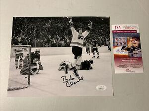 Bobby Clarke Autograph Signed Flyers 8x10 Photo JSA