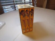 Indiana Jones The Adventure Collection VHS 3-Tape Set Raiders of the lost ark