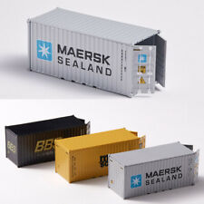 20'GP 1:64 Scale MAERSK Sealand Container Diecast Car Model Shipping Container