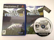 REEL FISHING III PS2 Playstation 2 PAL Multi ITA Come Nuovo