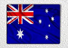 FLAG AUSTRALIA FRIDGE MAGNET -hld3Z