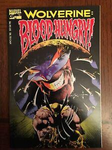 Wolverine Blood Hungry (Marvel, 1993) Peter David Sam Keith VF