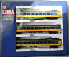 Lima Netherlands High Speed Passenger Train With Functional Pantogram 3 Pcs - HO