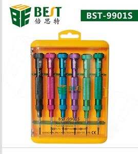 BST 9901S Repair Tools Magnetic Screwdrivers Kit Set iPhone 6 5 5S 4 Samsung USA