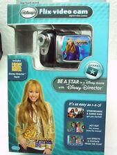 Disney Flix Kids Black Digital Video Camera Camcorder Sakar Movie Maker CD-Rom